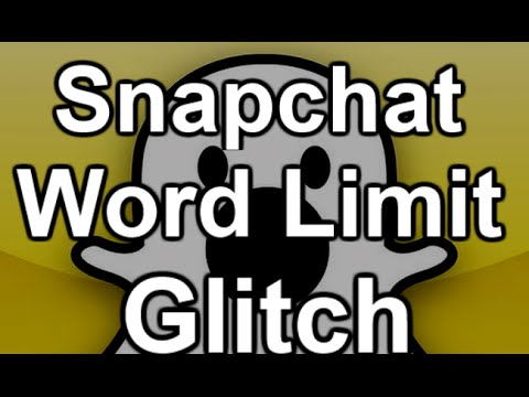 [Patched] Snapchat Glitch-How to use multiple lines of text on Snapchat