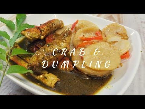 Trinidad and Tobago Curry Crab and Dumplings Recipe - Episode 153