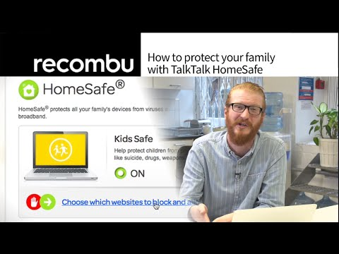 How to protect your family with TalkTalk HomeSafe