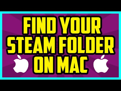 How To Find Your Steam Folder On Mac 2017 (QUICK & EASY) - Mac Steam Folder Location