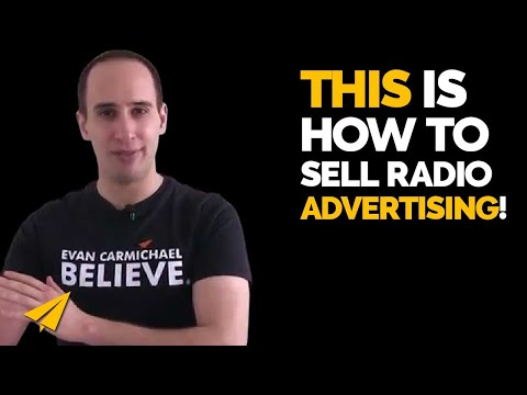 Selling Radio Advertising - How to sell ads on a radio show