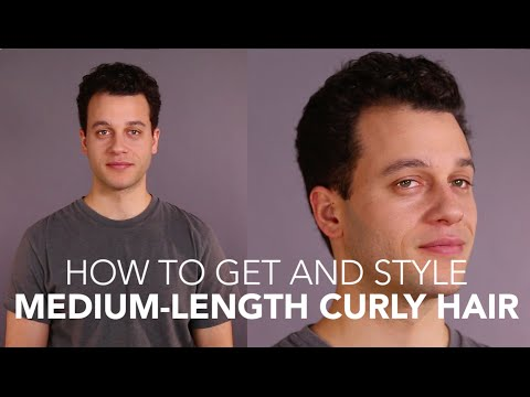How to Cut and Style: Medium Curly Hair