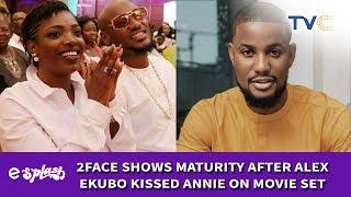 2Baba Shows Maturity After Alex Ekubo Kissed Annie Idibia On Movie Set