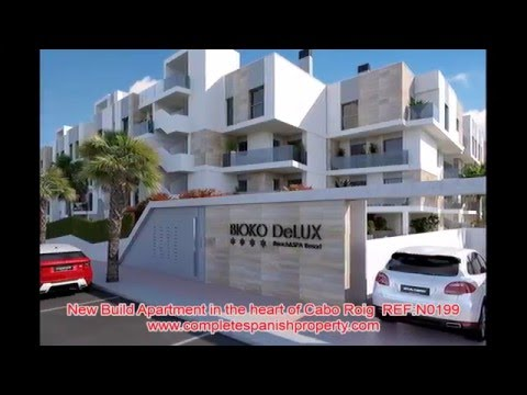 REF: N0199 - New Build Apartment in the heart of Cabo Roig