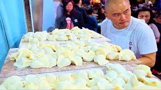 Download Fastest Dumplings (WORLD RECORD!) STREET FOOD in Taipei's BEST Night Market | Taiwan Street Food Video