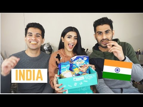 Indian Americans Try Indian Snacks