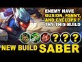 Mobile Legends Indonesia - New Build Saber If Enemy Pick Fanny, Gusion, And Cyclops mp3