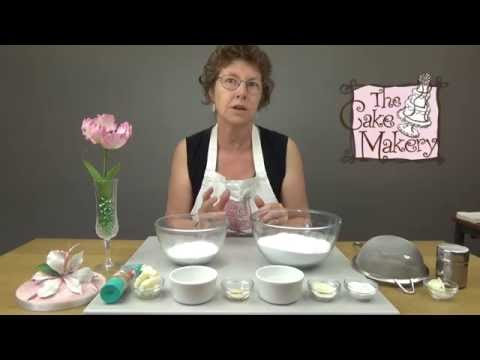 The Cake Makery Flowerpaste Recipe - How to make it
