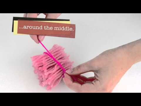 How To Make A Quick & Fast Wool Pom Pom | the littlecraftybugs company