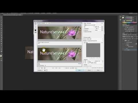 Photoshop CS6 Basics - Creating a WordPress Header