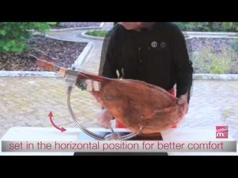 Assembly and use of the Whole Dry-cured Ham Support  | MandicPlace (9)