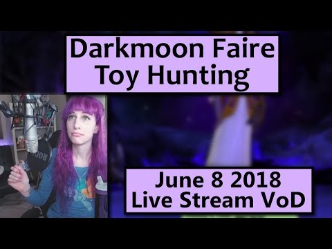 Darkmoon Faire Toy Hunting - June 8 Live Stream VoD