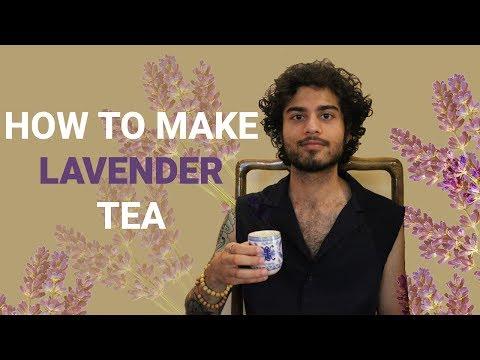 How to Make Lavender Tea
