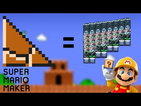 Recreating Non-Super Mario Maker Items in Super Mario Maker