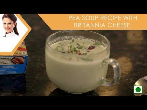 Pea Soup Recipe with Britannia Cheese