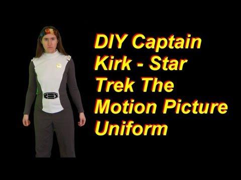 DIY Captain Kirk Uniform from Star Trek The Motion Picture