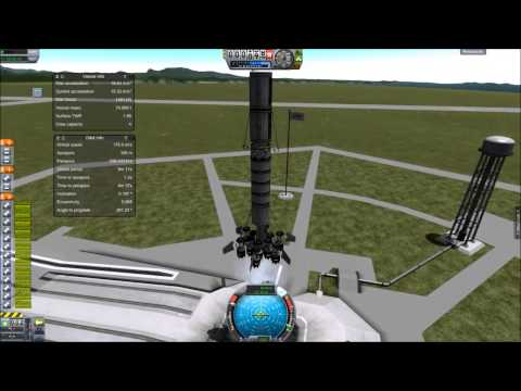 KSP The most fuel efficient way into Orbit, you might be suprised...