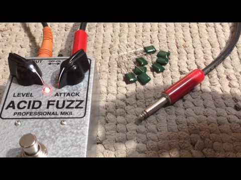 Build Tip: Film Capacitor Polarity Test