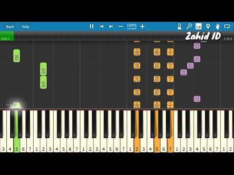 Lagu Anak DAKOCAN Piano Tutorial (Belajar Musik)