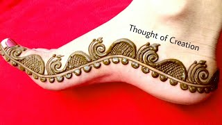 Foot Mehndi Designs 2018 Videos 9videos Tv
