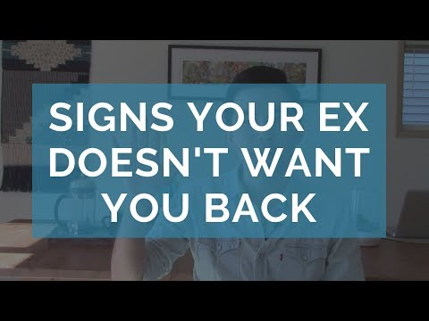 5 Signs that Your Ex Does Not Want You Back