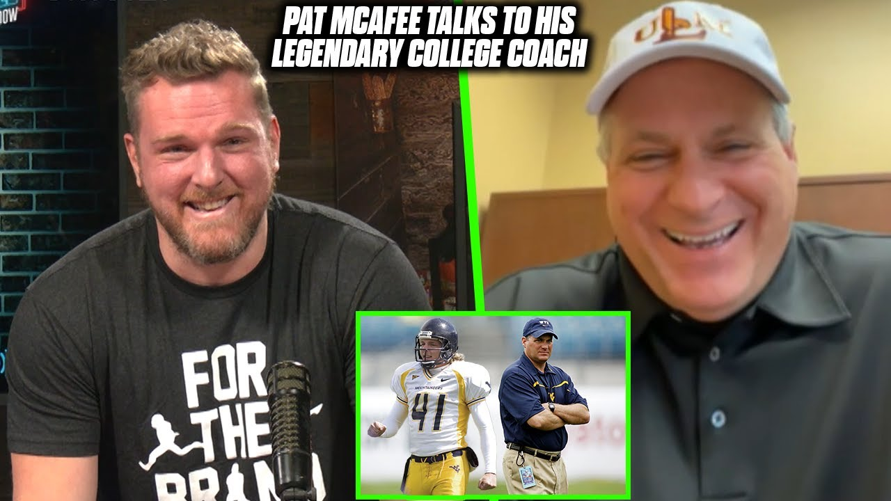 Pat McAfee & Rich Rodriguez Talk Pat's College Life, West Virginia Being Underrated