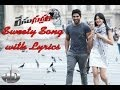 Race Gurram Promotional Full Songs Hd Sweety Song With Lyric