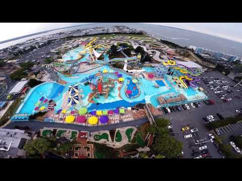 Ocean City Maryland GoPro Drone