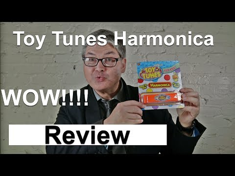 Toy Tunes Harmonica Review