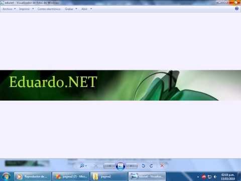 Tutorial 1 Visual Studio 2008 - Master Page