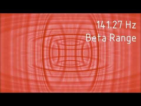 Pure 141.27 Hz Beta Range Binaural Beats [30 min]