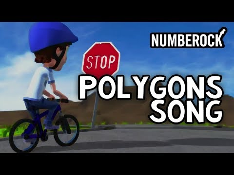Polygons For Kids Rap Song | Geometry Video |  2nd-4th Grade