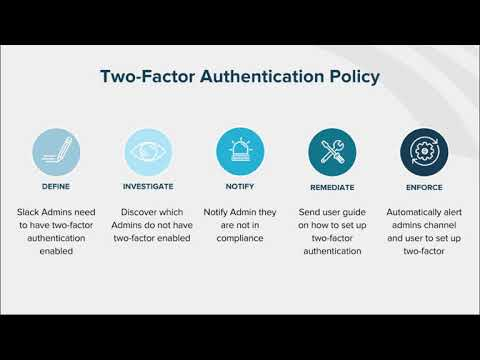 How to Automate Policy Enforcement: Slack Two-Factor Authentication
