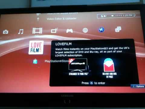 PS3 / LOVEFILM REVIEW