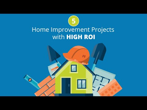 5 Home Improvement Projects with High Return on Investment