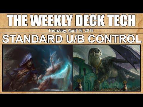 MTG Weekly Deck Tech: Standard Blue/Black Control