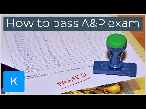 How to pass your final exam in anatomy and physiology |Kenhub