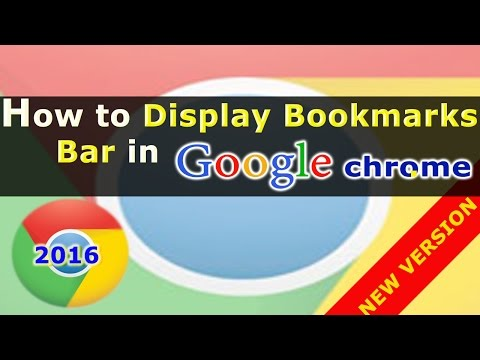 How To Show And Hide Bookmarks Bar In Google Chrome Browser | Google Chrome Shortcuts Tip #4.