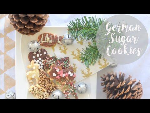 German Sugar Cookies (Plätzchen) | German Cookie Recipe | Advent Calendar #16 | MVD