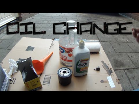 How to Change the Oil and Filter in a Car (Classic Mini Cooper 1275)