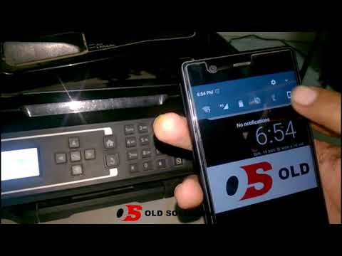 how to print from your Android Phone - Wireless Printing With Epson L565