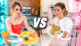 Cooking for our Boyfriends Challenge! SISTER vs SISTER