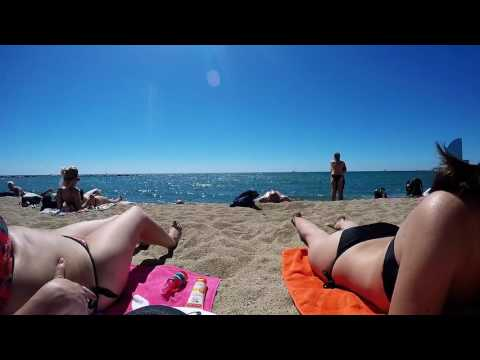Backpacking in SPAIN - Girona, Barcelona, Montserrat, Costa Brava - TRAVEL | GoPro Hero 4 Black
