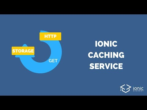 Ionic Caching Service