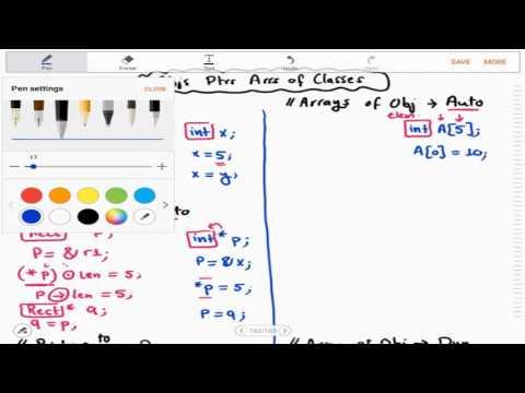 1 - 6 | OOP | Class Pointers & Array of Objects (Arabic بالعربي)