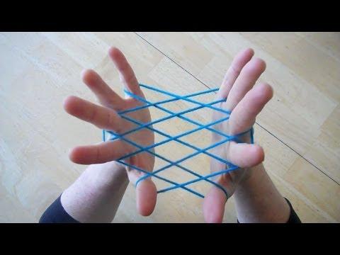 Hammock / Fishnet string figure - Step by step  tutorial
