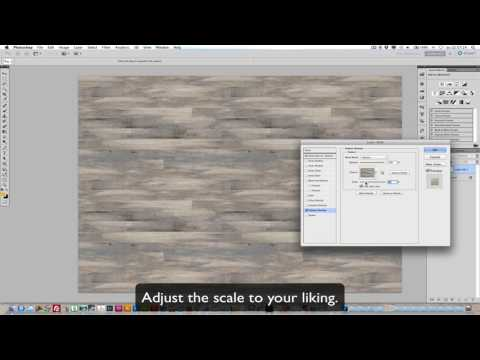 Making a seamless wood pattern in Photoshop