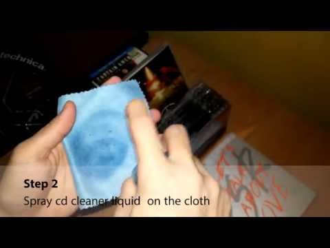 How to Properly Clean Your CD/Compact Disc