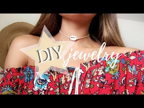 Beach Jewelry DIY - Chokers, Body Chains, + More | Tess Florio