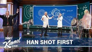 Amazing Experiments with Science Bob Pflugfelder & Harrison Ford!